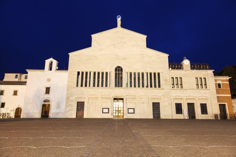 ST Pio του παρεκκλησιού Pietrelcina στοκ φωτογραφίες