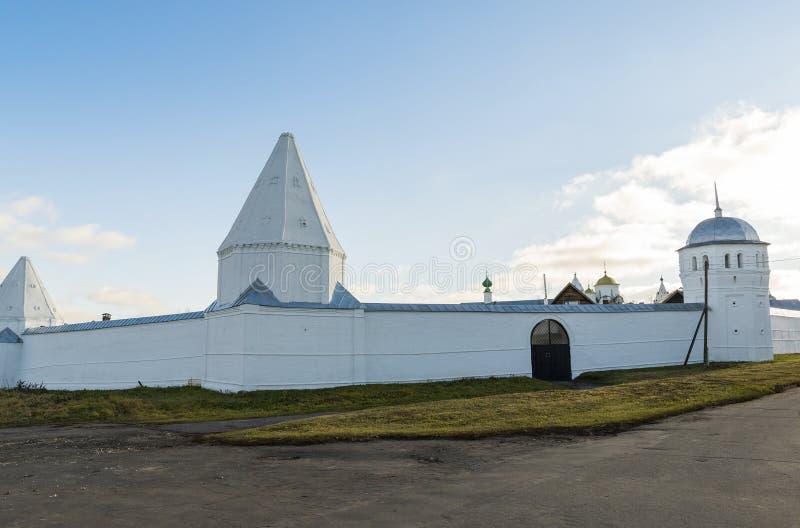 St Pokrovsky vrouwelijk klooster in Suzdal Gouden Ring van de Reis van Rusland stock foto's