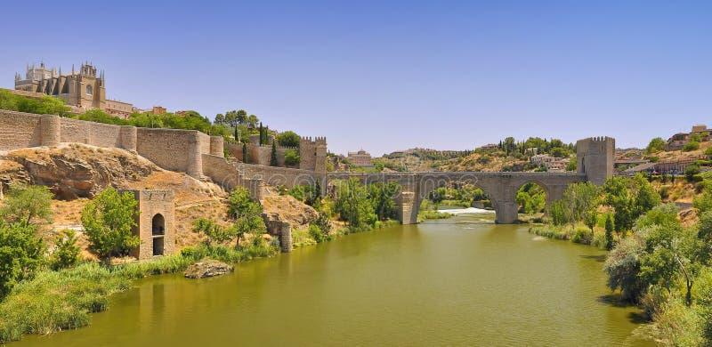 St, ponte de Martin, Toledo, spain. fotografia de stock