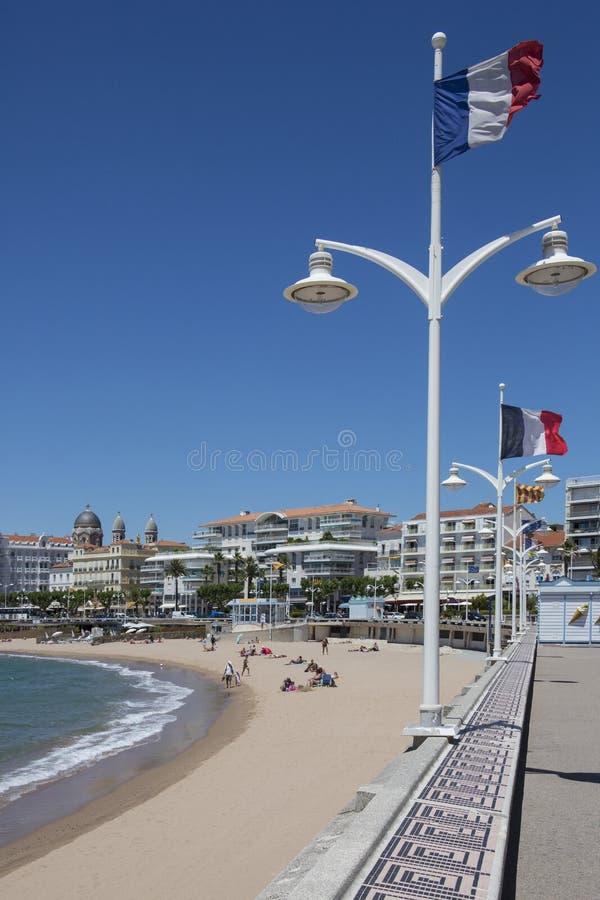 St Raphael - Corniche De Esteral - French Riviera Editorial Stock Photo