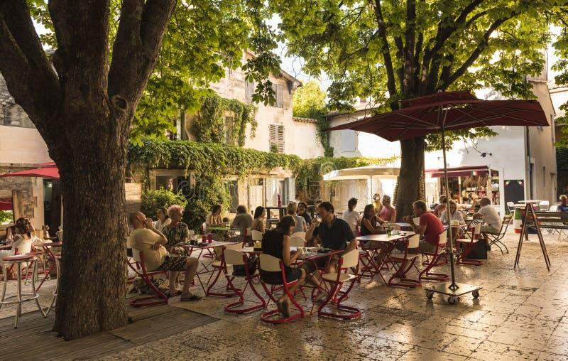 St.-Remy-De-Provence-Geburtsort von Nostradamus lizenzfreies stockfoto
