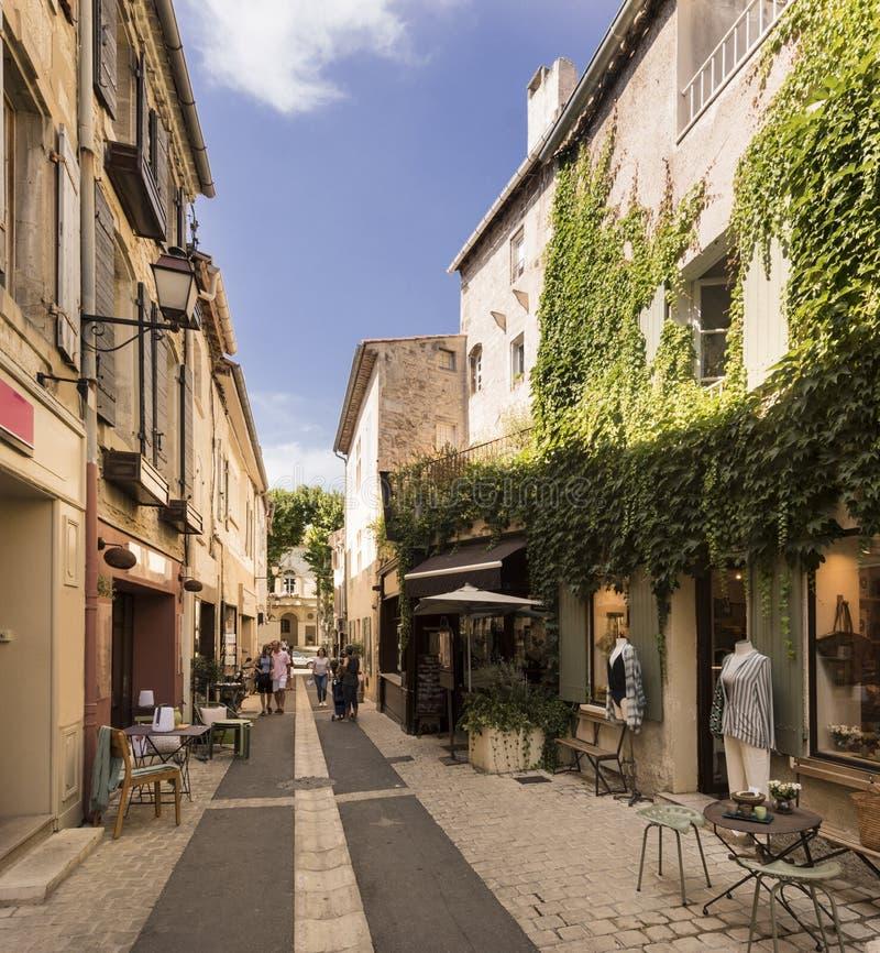 St.-Remy-De-Provence-Geburtsort von Nostradamus stockfotos