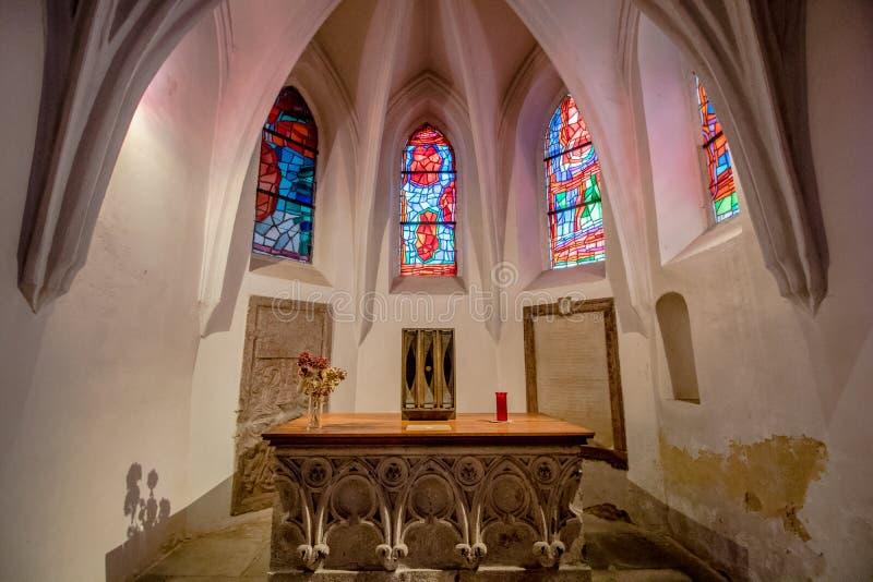 St Rupert ` s Kerk in Wenen, Oostenrijk stock afbeeldingen