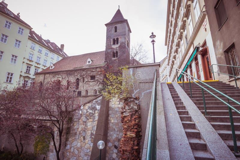 St Rupert ` s kościół w Wiedeń, Austria obraz royalty free