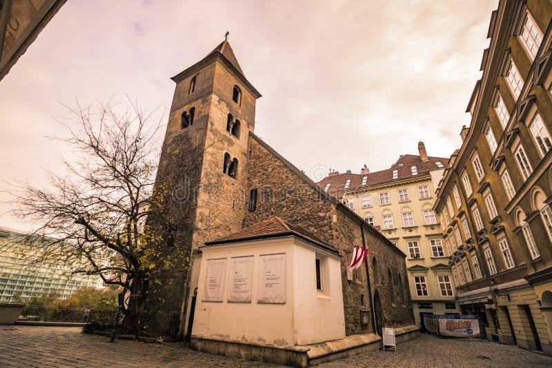 St Rupert ` s kościół w Wiedeń, Austria zdjęcia stock
