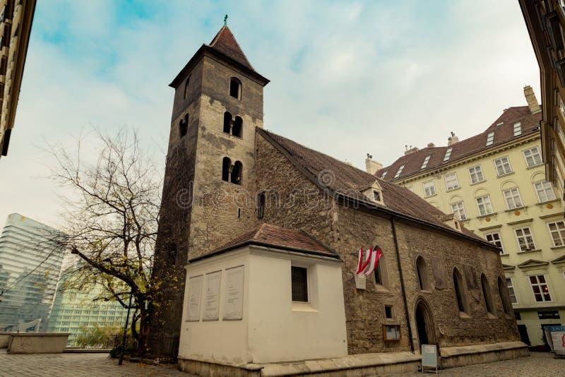 St Rupert ` s kościół w Wiedeń, Austria zdjęcie stock