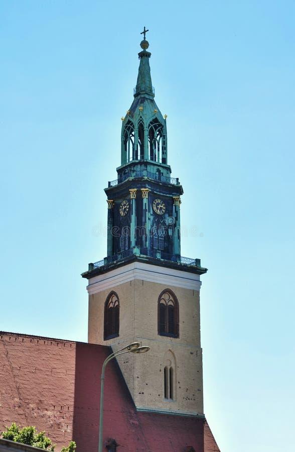 Download St S Maryjny Kościół, Berlin, Niemcy (Marienkirche) Obraz Stock - Obraz złożonej z destination, target213: 57672749
