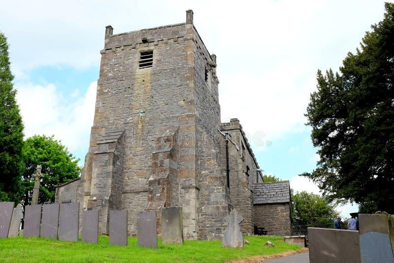 St ` s Maryjny kościół, Tissington, Derbyshire zdjęcie royalty free