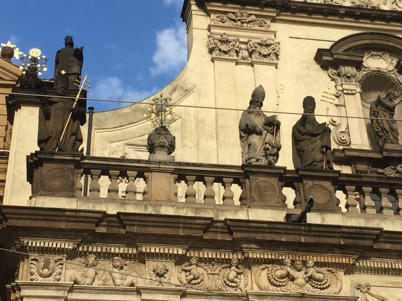 St. Salvator Church in Prague, Czech Republic royalty free stock images
