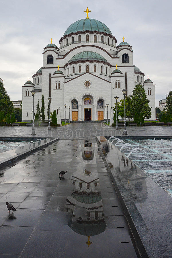 St Sava Temple images stock