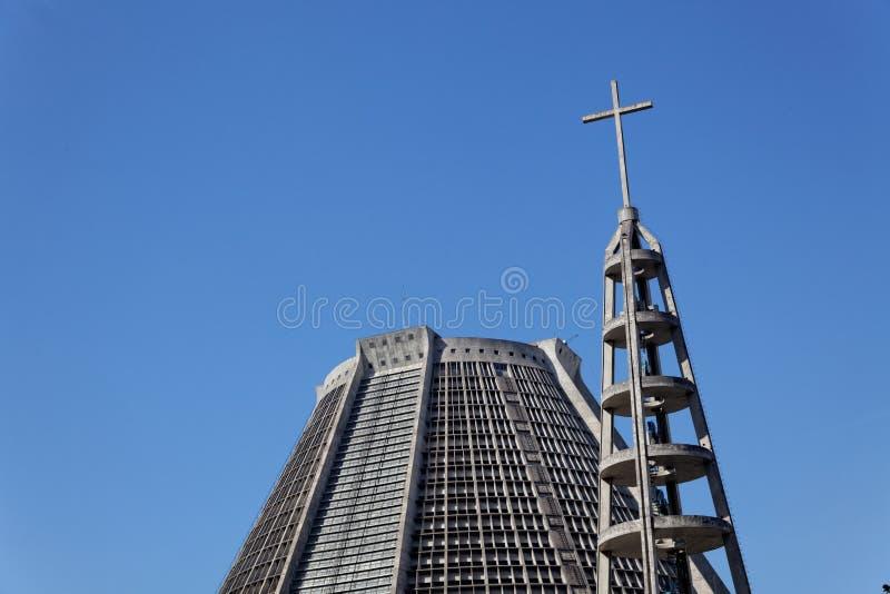 St. Sebastian Río de Janeiro el Brasil de la catedral fotografía de archivo libre de regalías
