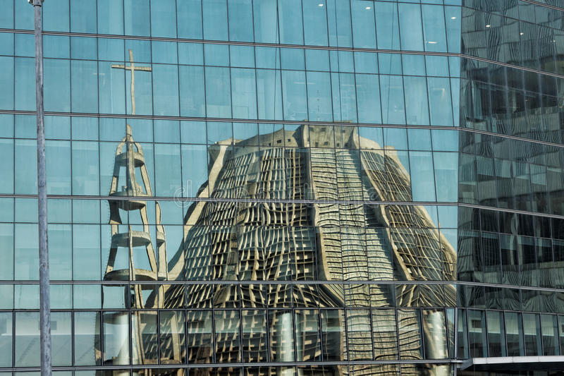 St. Sebastian Río de Janeiro el Brasil de la catedral imagen de archivo
