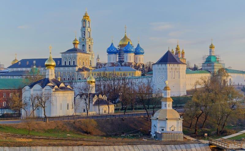 St Sergius Lavra da trindade santamente fotografia de stock royalty free