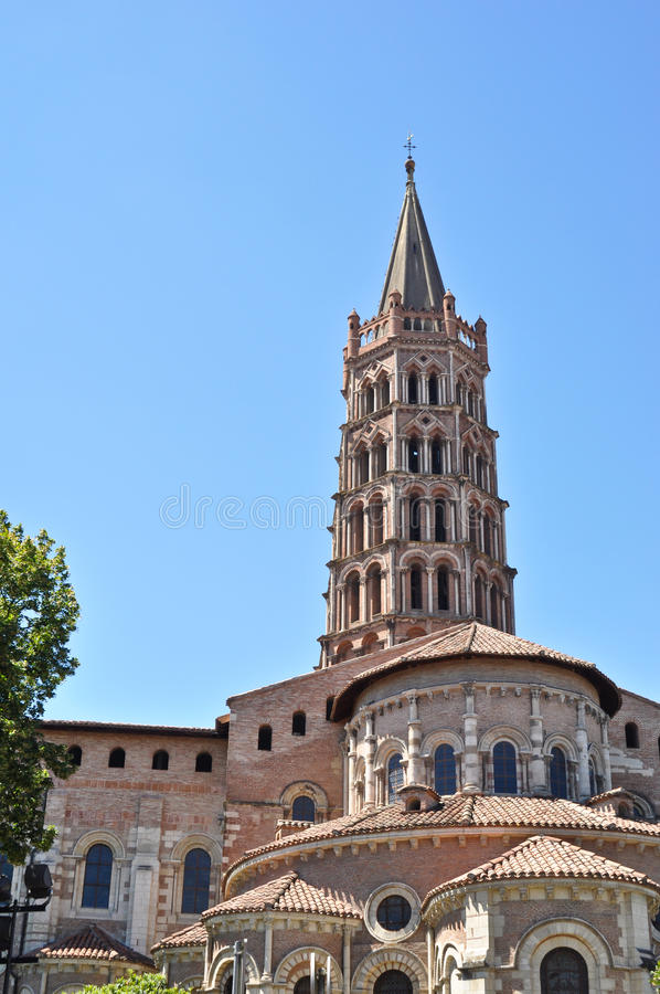 Download St Sernin Basilic In Toulouse Stock Image - Image: 18028173