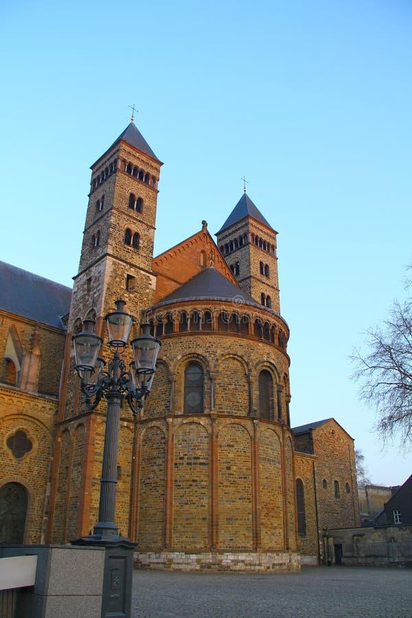 St. Servatius Church - Maastricht - die Niederlande stockfotografie