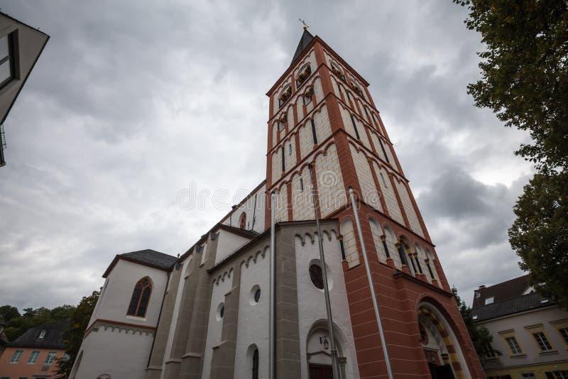 St Servatius kerk siegburg Duitsland royalty-vrije stock foto's