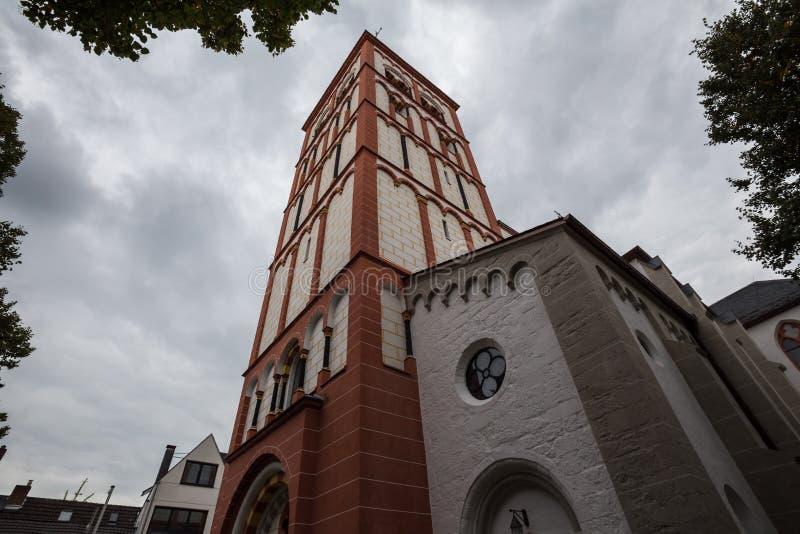 St Servatius kościelny siegburg Germany zdjęcia stock
