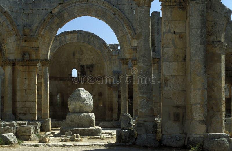 Download ST SIMEON DE ORIENTE MEDIO SIRIA ALEPO DEIR SAMAAN Foto editorial - Imagen de ruinas, medio: 64211956