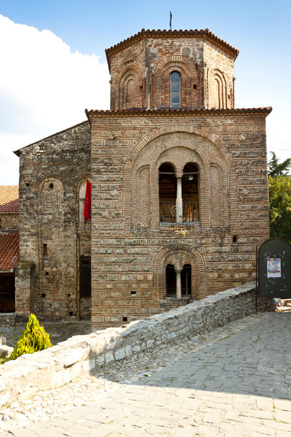 St. Sofia church in Ohrid. royalty free stock images