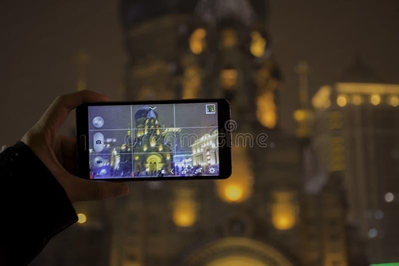 St Sofia kerk royalty-vrije stock afbeelding