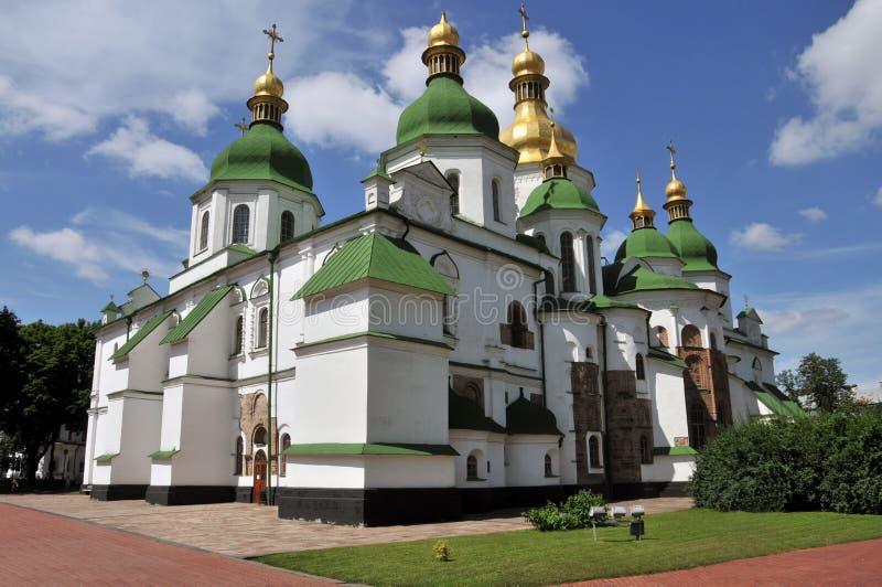 St Sofia in Kiev stock foto
