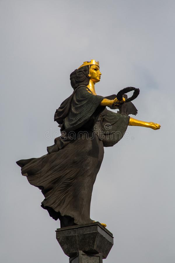 St Sofia Statue imágenes de archivo libres de regalías