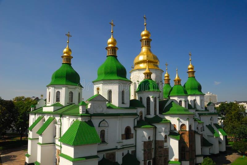 St. Sophia Cathedral. Museum in Kiev, Ukraine stock images