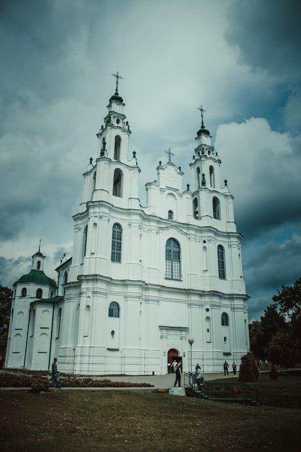 St Sophia Cathedral de Polotsk imagenes de archivo