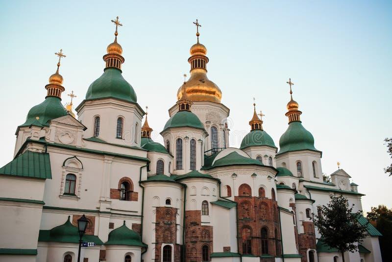 St Sophia Cathedral em Kiev, imagem de stock