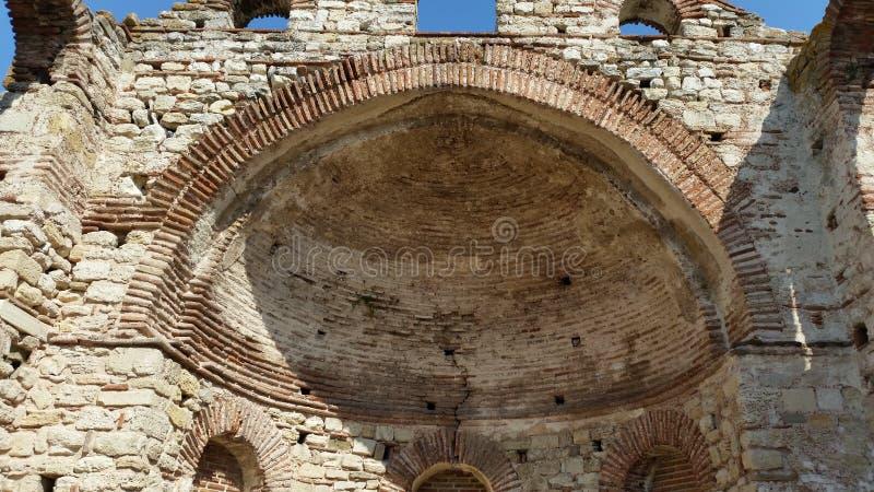 St. Sophia Church, Nessebar, Bulgarien lizenzfreie stockbilder