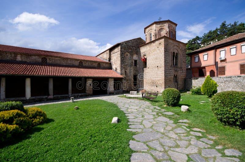 St. Sophia kościół w Ohrid, Macedonia fotografia royalty free