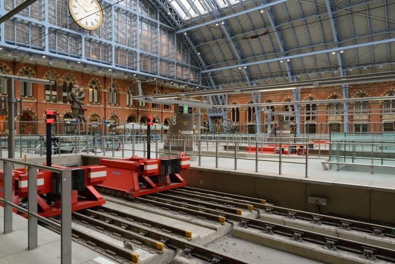 St stacja Pancras zdjęcie stock