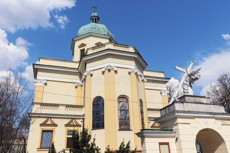 St Stanislaus驻军教会在拉多姆 免版税图库摄影