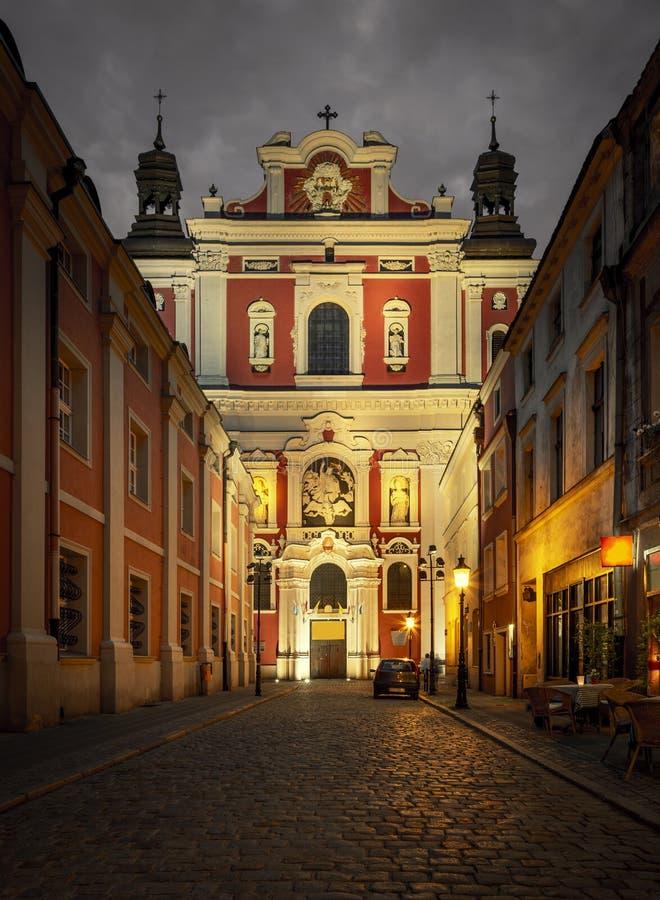 St Stanislaus kościół na Starym miasteczku, Poznańskim, Polska zdjęcia stock