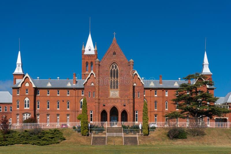St Stanislaus Roman Catholic secondary day and boarding school in Bathurst. Bathurst, Australia - September 27, 2015:  St Stanislaus Roman Catholic secondary day stock images