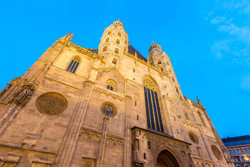 St. Stephan Cathedral Vienna Austria lizenzfreie stockfotos