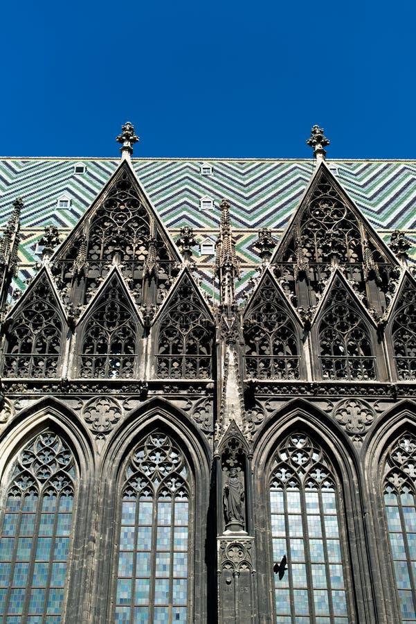 St.Stephan-domkyrka, Wien, Österrike royaltyfria foton