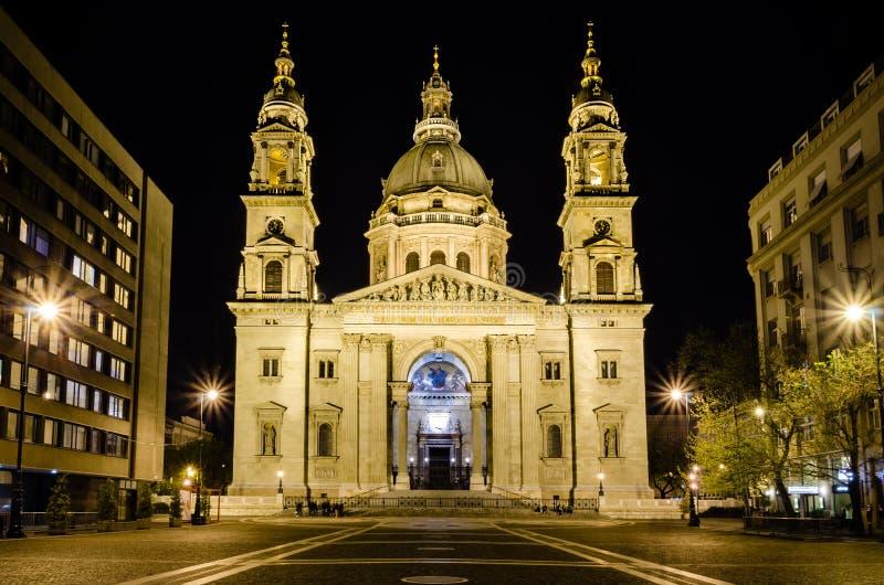 St. Stephen basilica royalty free stock photography