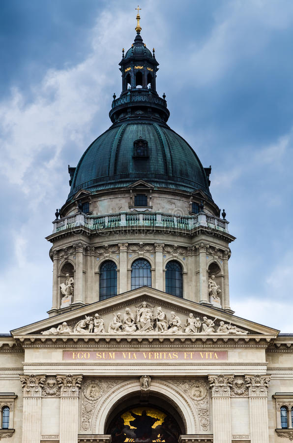 St. Stephen Basilica Dome in Budapest, Hungary