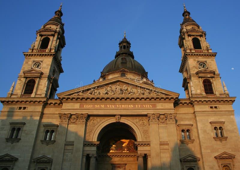 St. Stephen Basiliek royalty-vrije stock fotografie