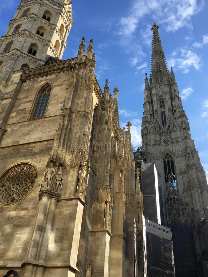 St Stephen & x27; catedral de s imagens de stock