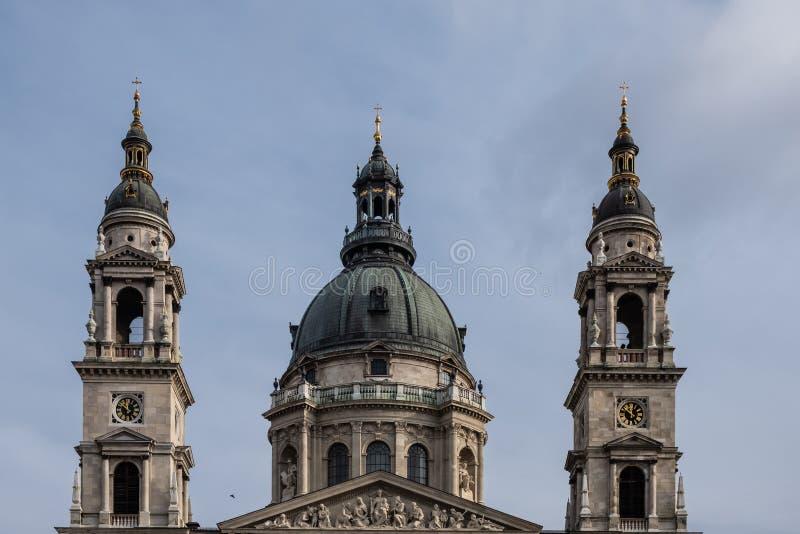 St Stephen Cathedral Budapest, Ungheria fotografia stock libera da diritti