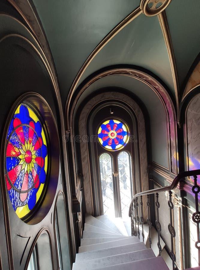 St. Stephen Church, Balat, Istanbul, Turkey. St. Stephen Church Balat, Istanbul Turkey royalty free stock photography