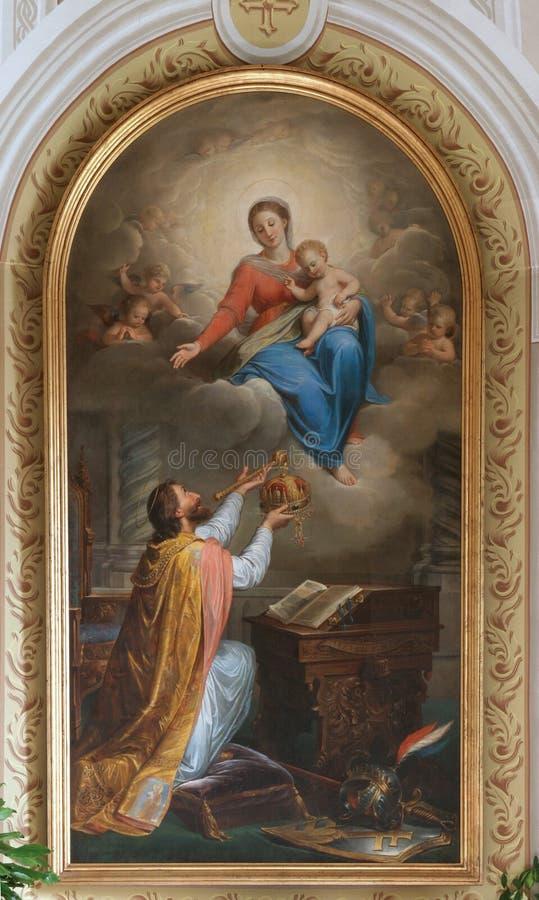 St Stephen de la Hongrie photos stock