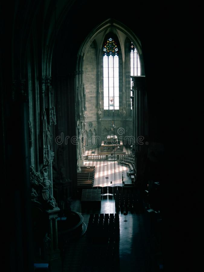 St. Stephen Kathedraal in Wenen stock foto