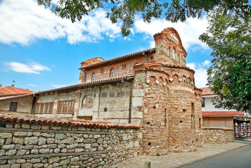 St. Stephen kościół w Nessebar, Bułgaria. obraz royalty free