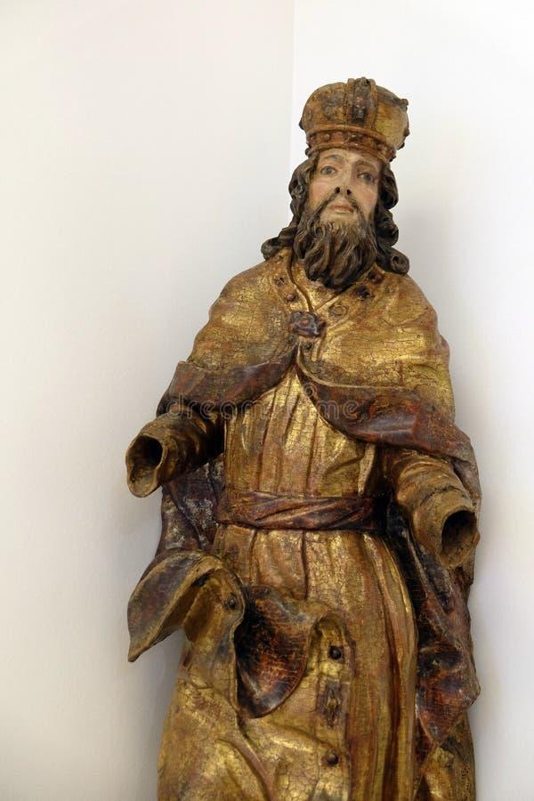 St Stephen le roi images libres de droits