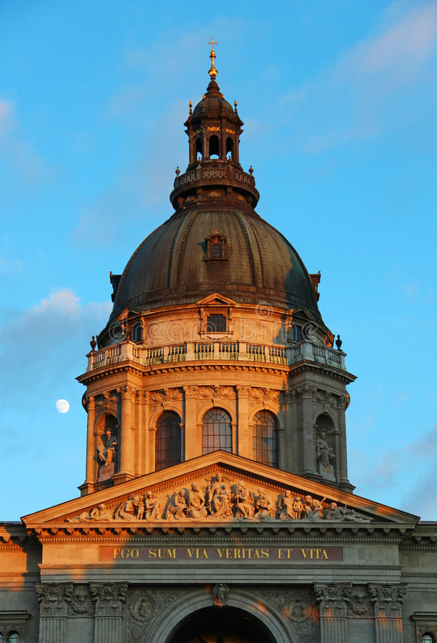 Download St. Stephen's Basilica, Budapest Stock Image - Image: 23180293