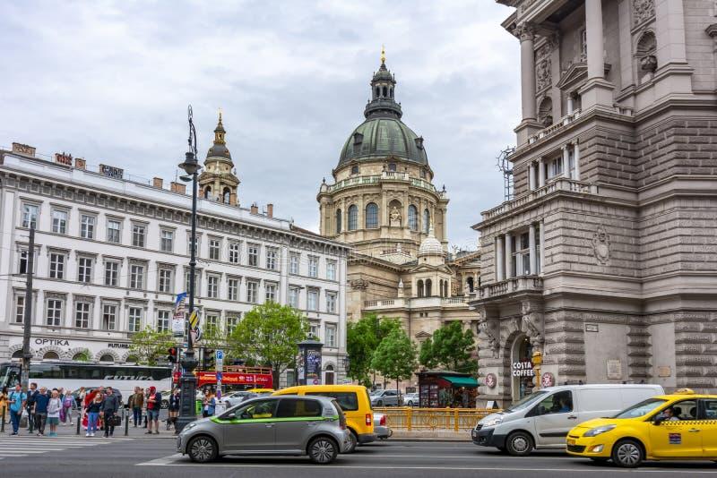 St. Stephen`s Basilica, Budapest, Hungary royalty free stock photos