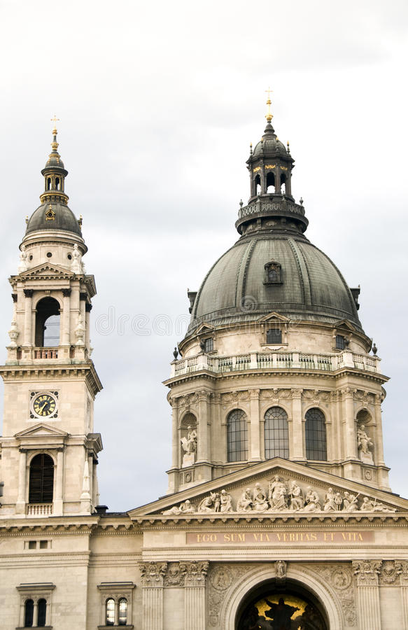St. Stephen S Basilica Cathedral Budapest Hungary Stock Photo